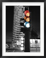 Framed Traffic Lights