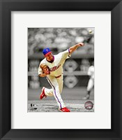 Framed Cliff Lee 2012 Spotlight Action