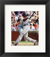 Framed Austin Jackson 2012 Action