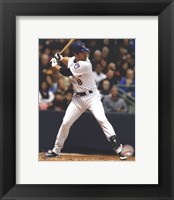 Framed Ryan Braun 2012