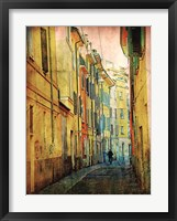 Framed Streets of Italy I