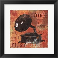 Dance To The Music Framed Print