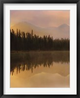 Framed Twilight Reflection I