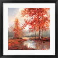 Framed Autumn's Grace II