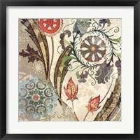 Royal Tapestry I Framed Print
