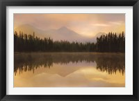 Framed Twilight Reflection