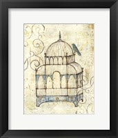 Framed Bird Cage II