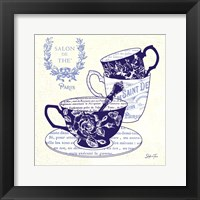 Blue Cups IV Framed Print