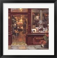 Framed Parisian Shoppe II
