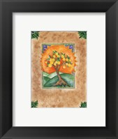 Framed Exotic Flower