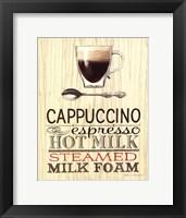 Framed Cappucino