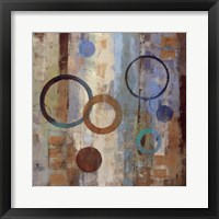 Bubble Graffiti II Framed Print
