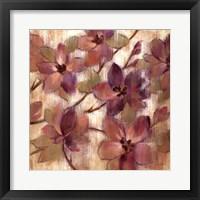 Magenta Branch II Framed Print