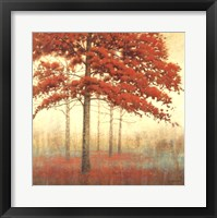 Framed Autumn Trees II
