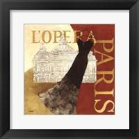 Framed Paris Dress - L' Opera
