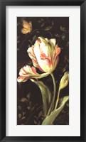 Jardin Paris Florals II Framed Print