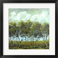 Framed Walking Trees