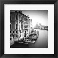 Framed Canal Grande I