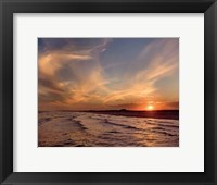 Framed Corpus Christi Sunset