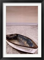 Framed Doryman's Boat