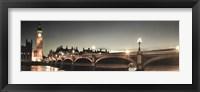 Framed London Lights