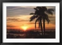 Framed Ana Maria Sunset