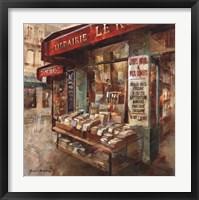 Framed Librarie Paris