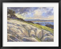 Framed Rocky Coast I