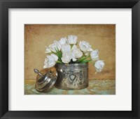 Framed Vintage Tulips