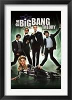 Framed Big Bang Theory - Group