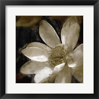 Framed Bronze Lily I