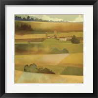 Framed Field Scape I