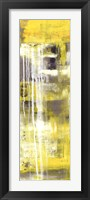 Mellow Yellow I Framed Print