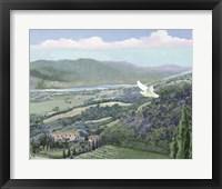 Framed Lavender Tuscany II