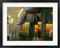 Framed Rainy Day Pub