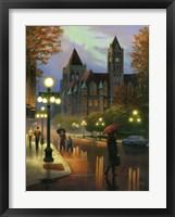 Framed Rainy Twilight