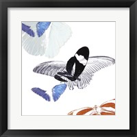 Butterfly Inflorescence I Framed Print