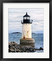 Lighthouse Views II Framed Print