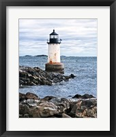 Lighthouse Views III Framed Print
