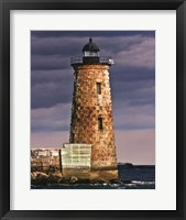 Lighthouse Views V Framed Print