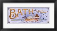 Framed Bath (Mermaid)