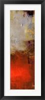 Chicago St. Rush II Framed Print