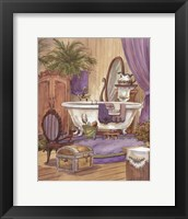 Victorian Bathroom I Framed Print