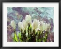 Framed Sunlit Tulips II