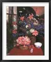 Floral Still Life I Framed Print