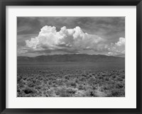 Mountains & Clouds II Framed Print
