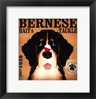 Framed Bernese Bait & Tackle