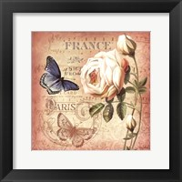 Springtime in France II Framed Print