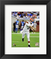 Framed Brandon Weeden 2012 football