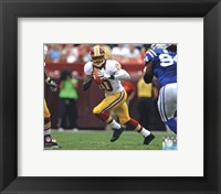Framed Robert Griffin III 2012 Action